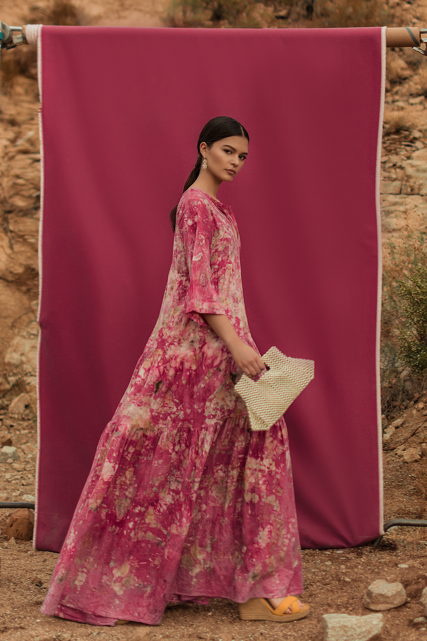 1 NI EN MORE dress, Cochineal 1.png