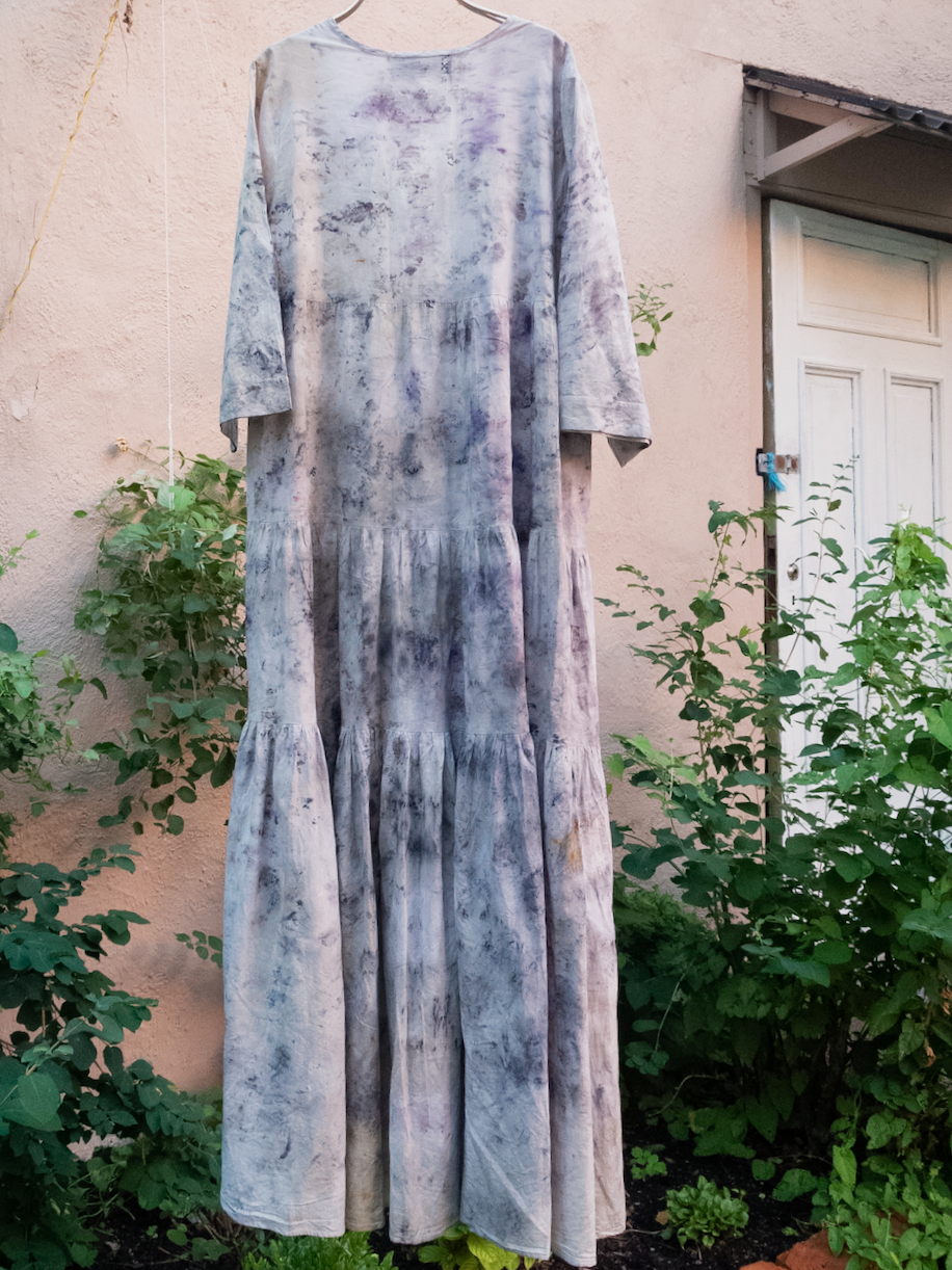 NEW! COTTON DRESS · No. 48 OF 60 ·   SIZE LARGE