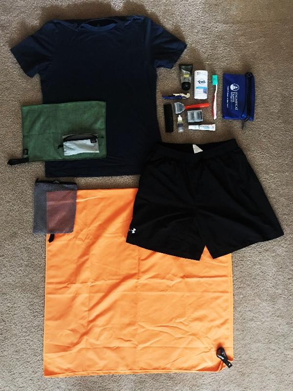Shower + Sleep Kit