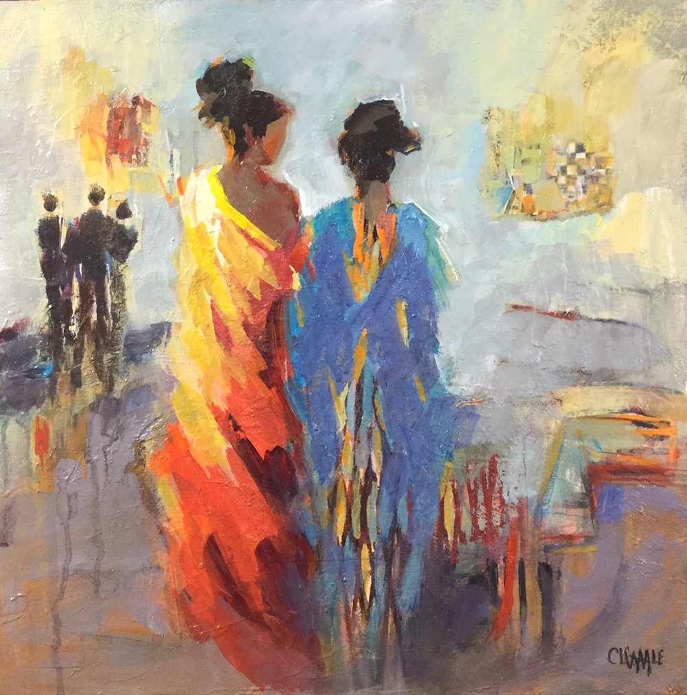 Girl's Night Out by Cheryl Waale