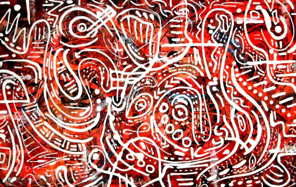 Indigenous 22 by Vincent Keele