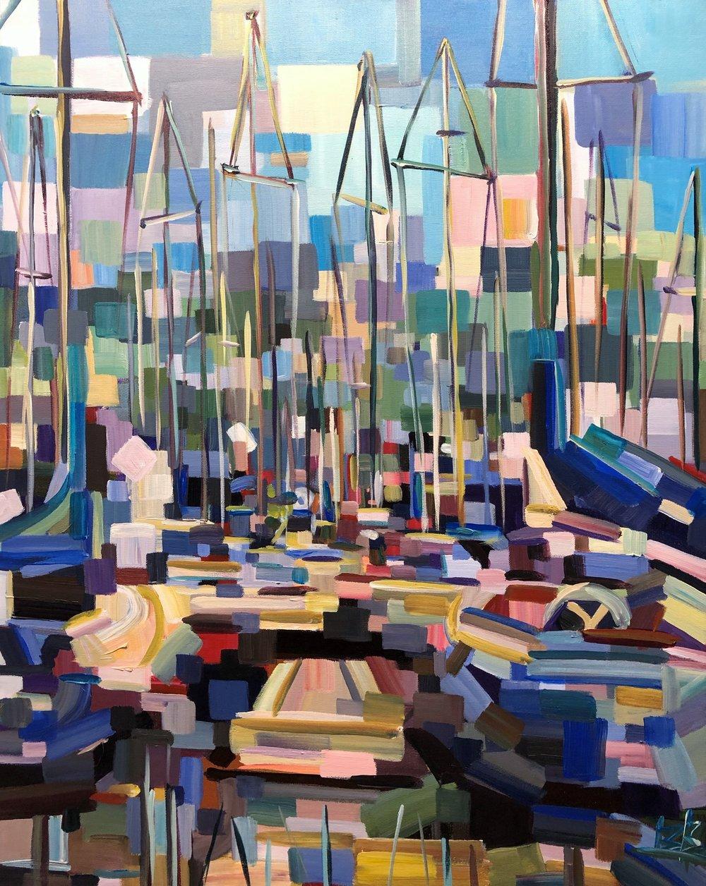 Shilshole Marina  by Brooke Borcherding