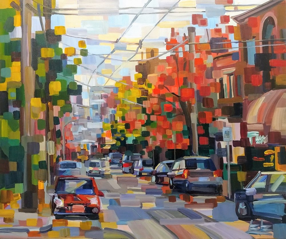 Thomas Street in Fall