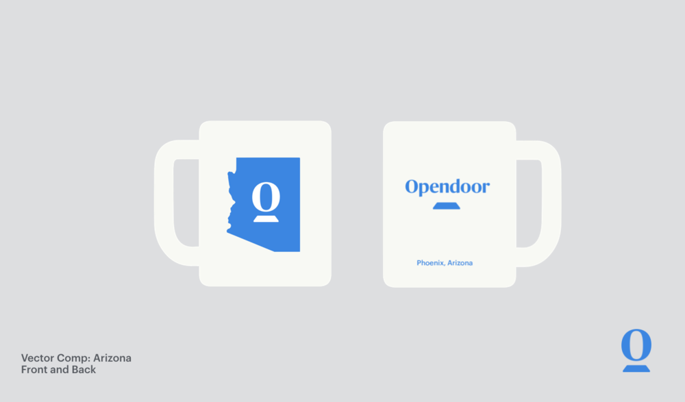 I pitched State Mug Merchandise for Opendoor