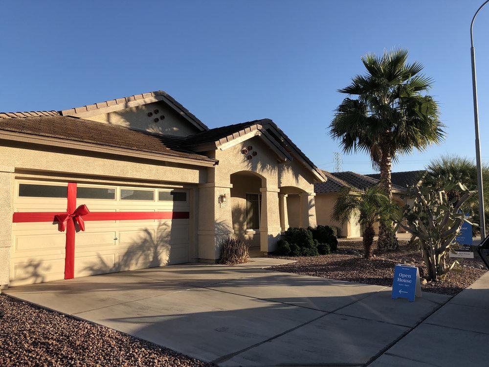 Some homes got the full garage install