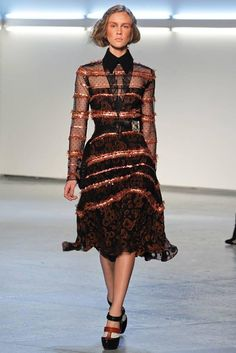 I was inspired by this dress from Rodarte's FW 2012