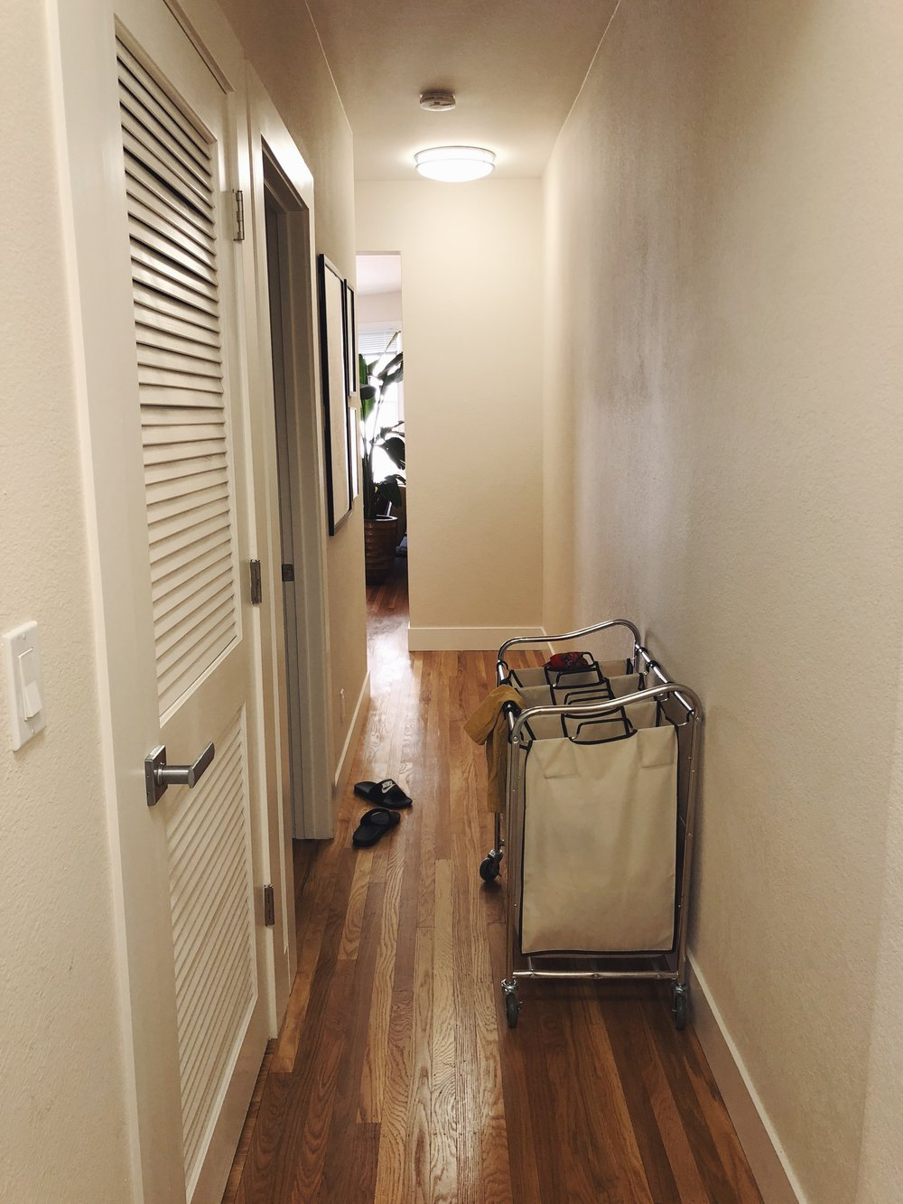 Hallway, by the Laundry room