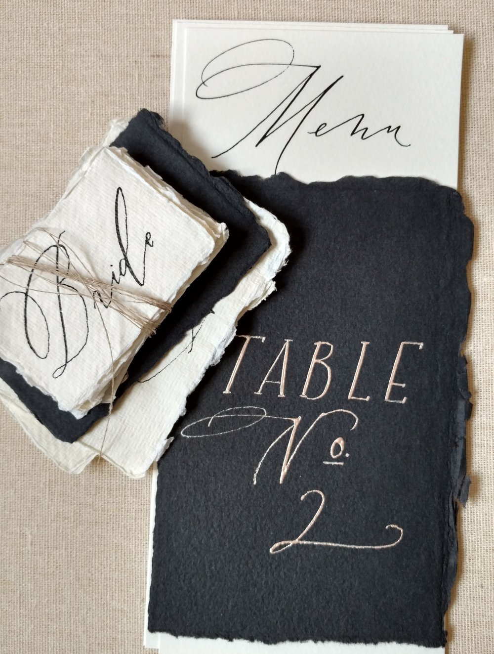 Custom Table Numbers | starting at $7