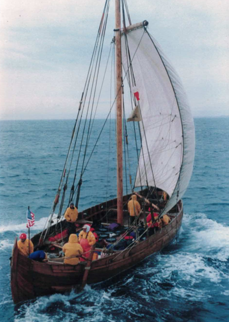 - Don't forget to make room in your schedule this Wednesday at 6pm for Terry Moore's lecture at the Apprenticeshop!Terry will talk about his experience as the captain of a replica Viking ship that retraced Leif Erikson's voyage of discovery to the New World. It's free and open to everyone with a suggested donation of $10. We hope to see you all there!
