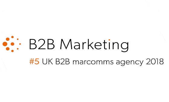 Realise in the top 5 UK B2B Digital Marketing Agencies - ARTICLE: REPORTS