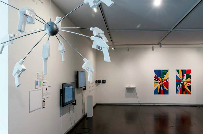 Upfor gallery (US) Installation view:Eyebeam in Objects