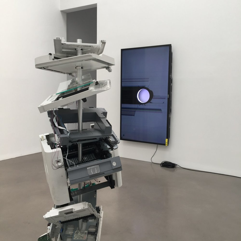 WALEAD BESHTY: Open Source; Installation view @ Petzel Gallery; Credit: Margo Spiritus/Niio
