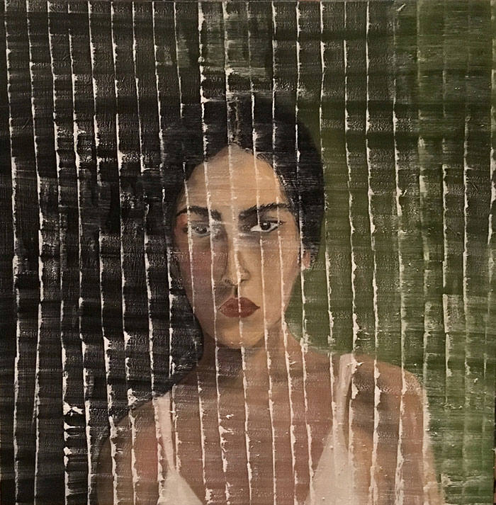 From the Outside 2' (2017) by Lulwa Al Khalifa, on show at St Martin-in-the-Fields, London
