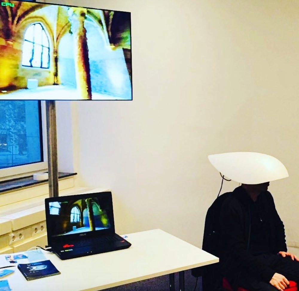Niio's Xuf Mills experiencing 'Levitation' by David Guez and Bastien Didier.