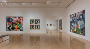 The Kerry James Marshall exhibit at L.A.'s Museum of Contemporary Art.