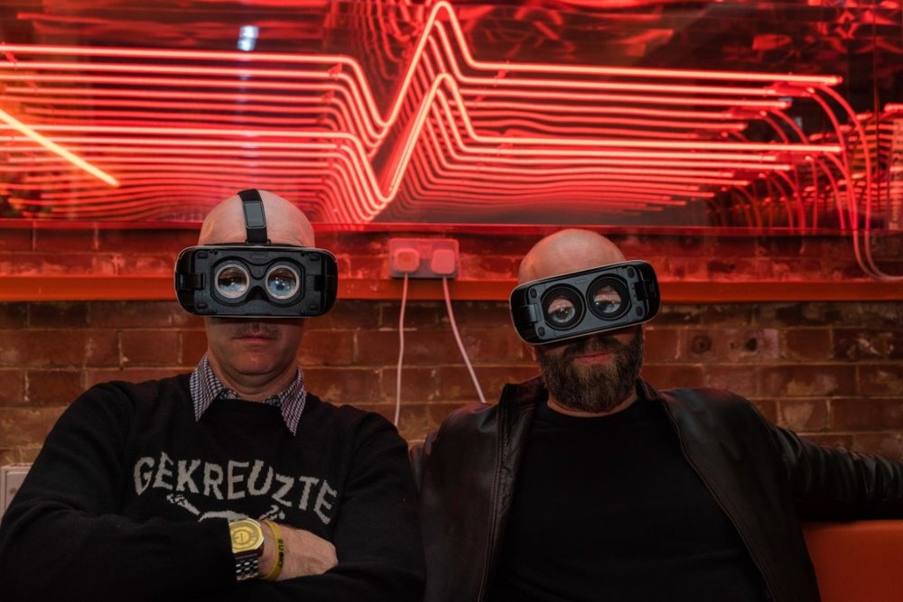 Virtual reality pioneers Shaun Gladwell and Leo Faber talk Badfaith Collective