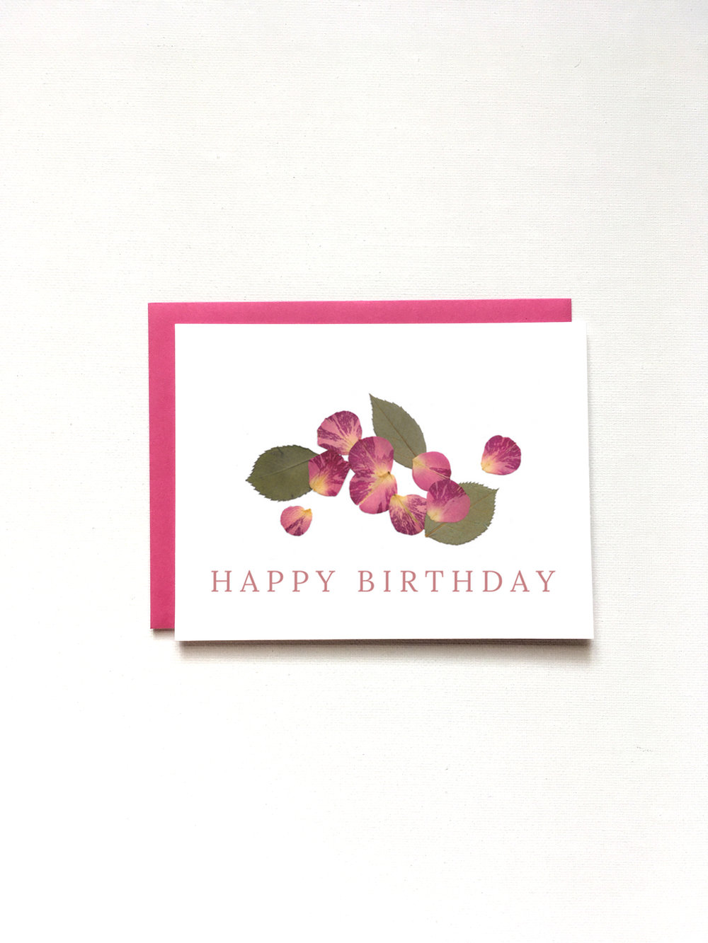 Happy Birthday Card by Raleigh Calligraphy