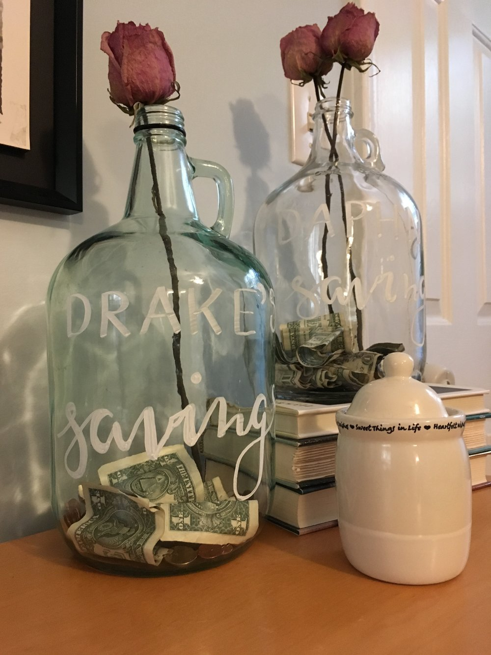 How to make a grownup piggy bank by Raleigh Calligraphy & Design