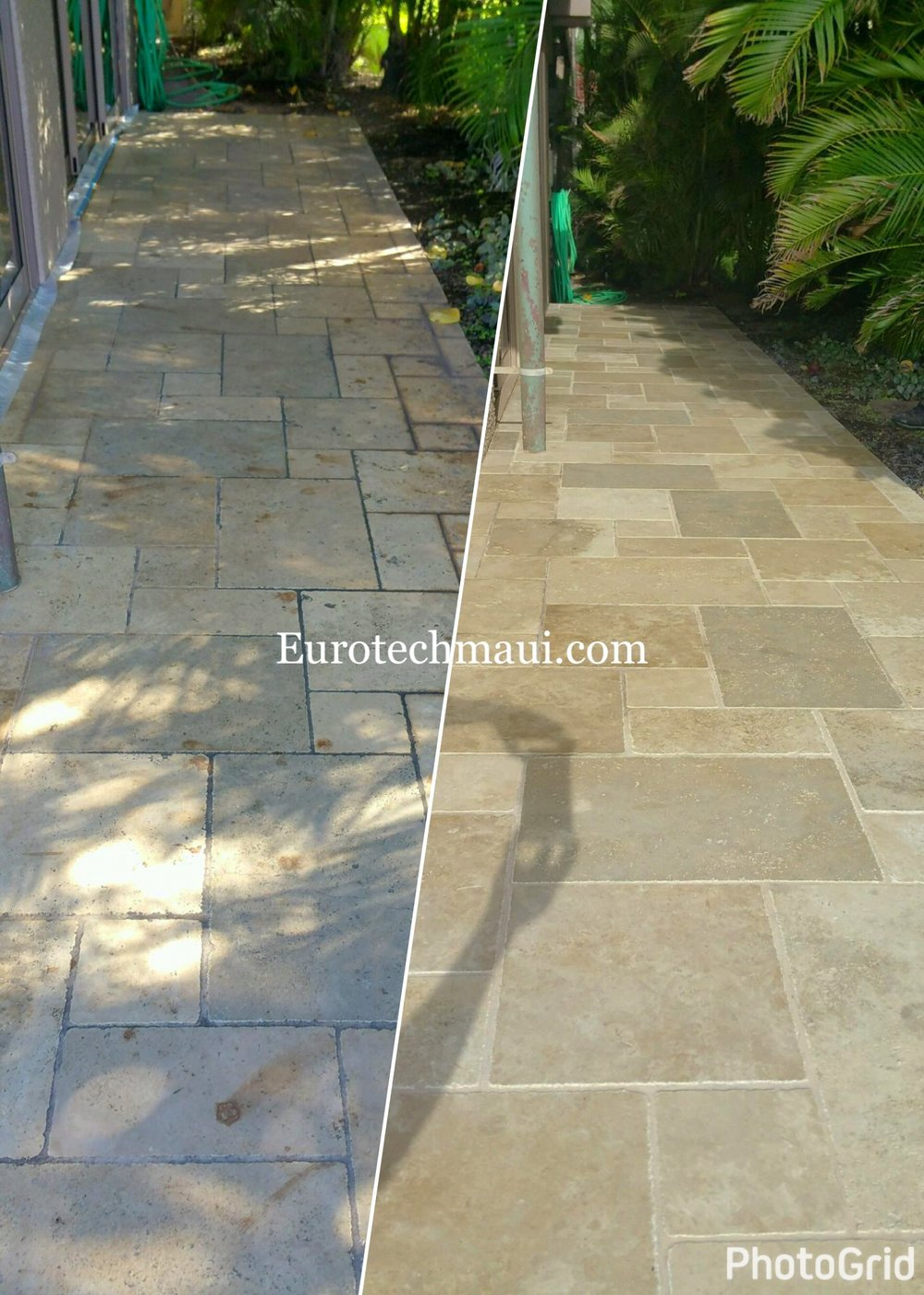 TRAVERTINE CLEANING IN WAILEA, MAUI