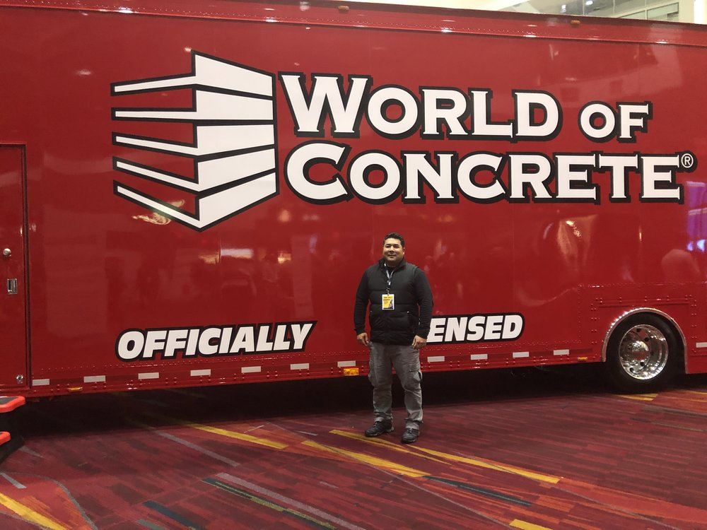 Work. Fun. World of Concrete 2019.