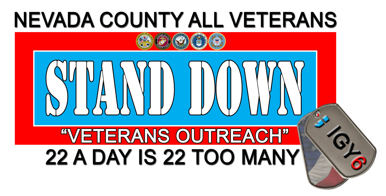 Nevada County All Veterans Stand Down