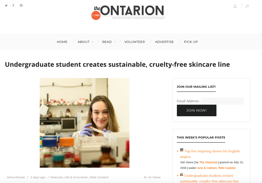 The Ontarion -