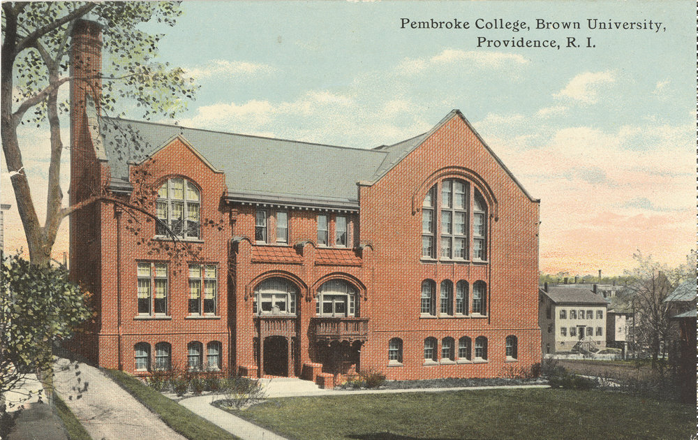 Pembroke Hall of Pembroke College,Built 1897