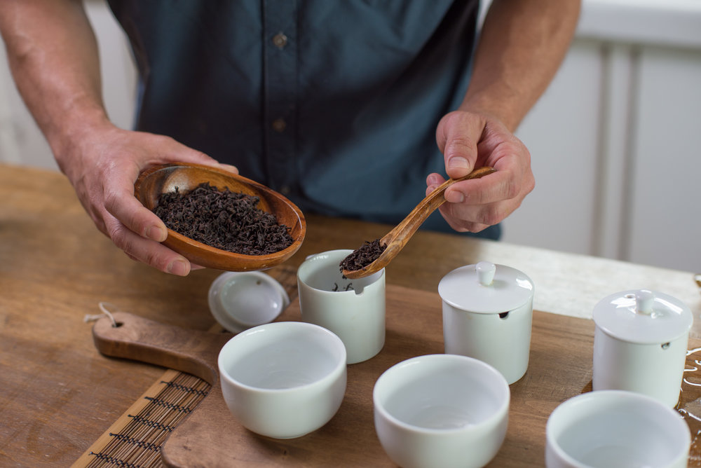 Black - Organic, direct-trade estate grown teas including creative and classic blends