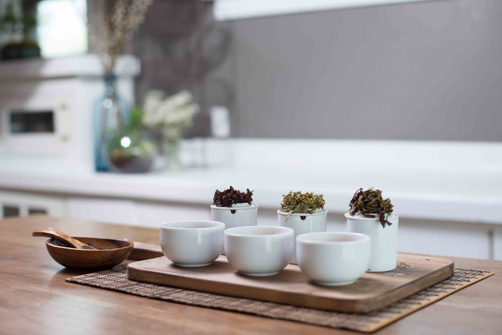 Oolong - Organic, direct-trade estate grown teas including creative and classic blends