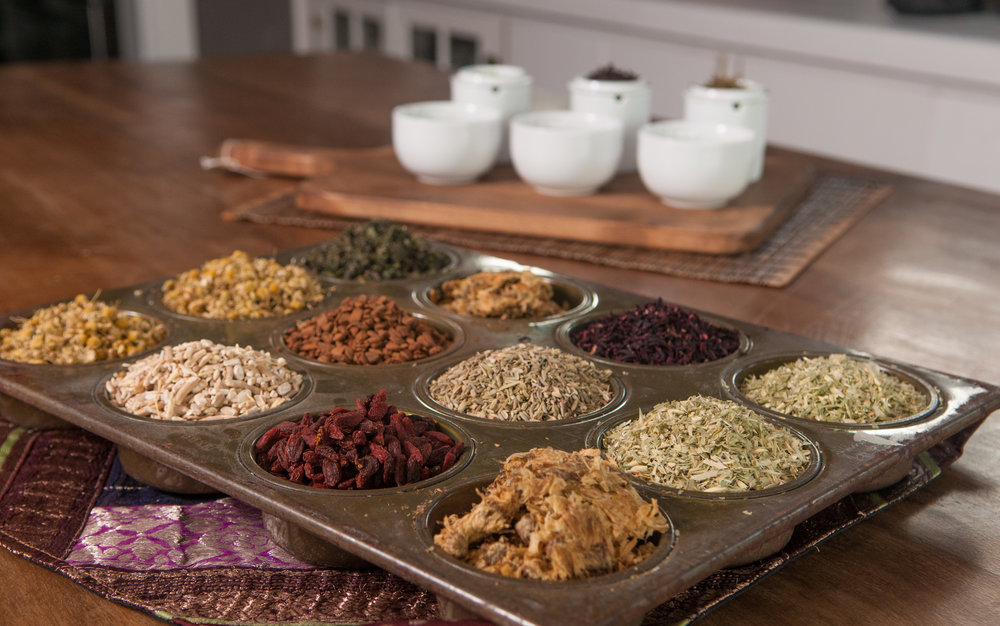 Herbal Tea/Tisanes - Vibrant herbs that soothe, calm and nurture