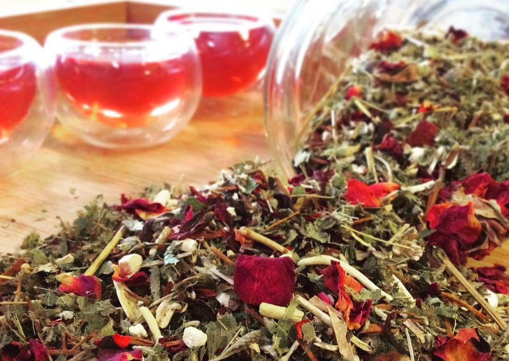 Order for Local Pick-up - Order bulk teas and canisters online and we'll have it ready for you to pick up at the Good Medicine Lounge. Check for the Local Pick-up option at check out!