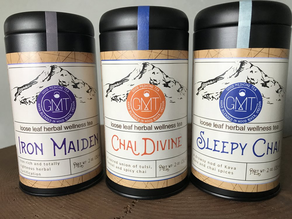 Vitality Tea Trio