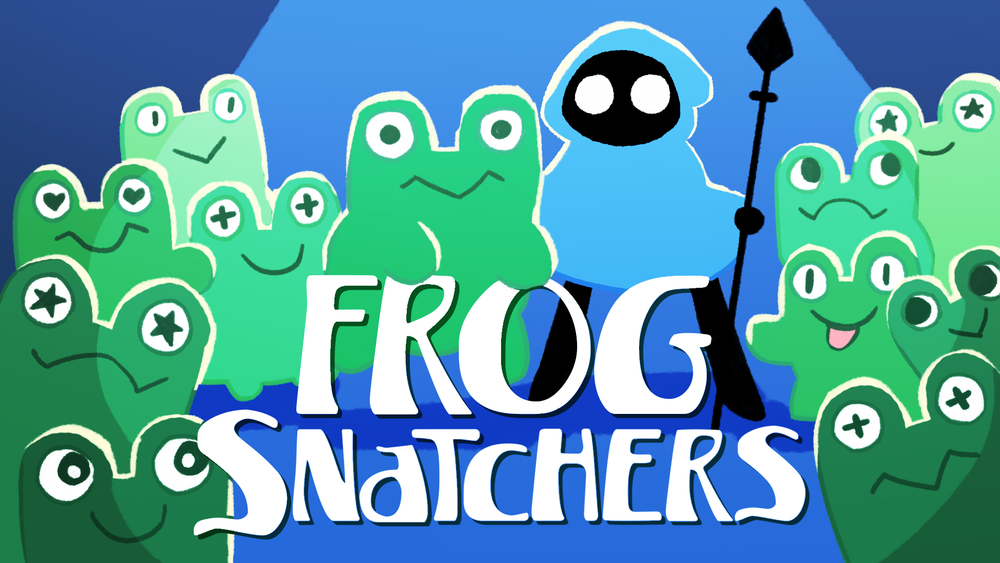 The Kickstarter page for Frog Snatchers is live now! Head over there and check it out!