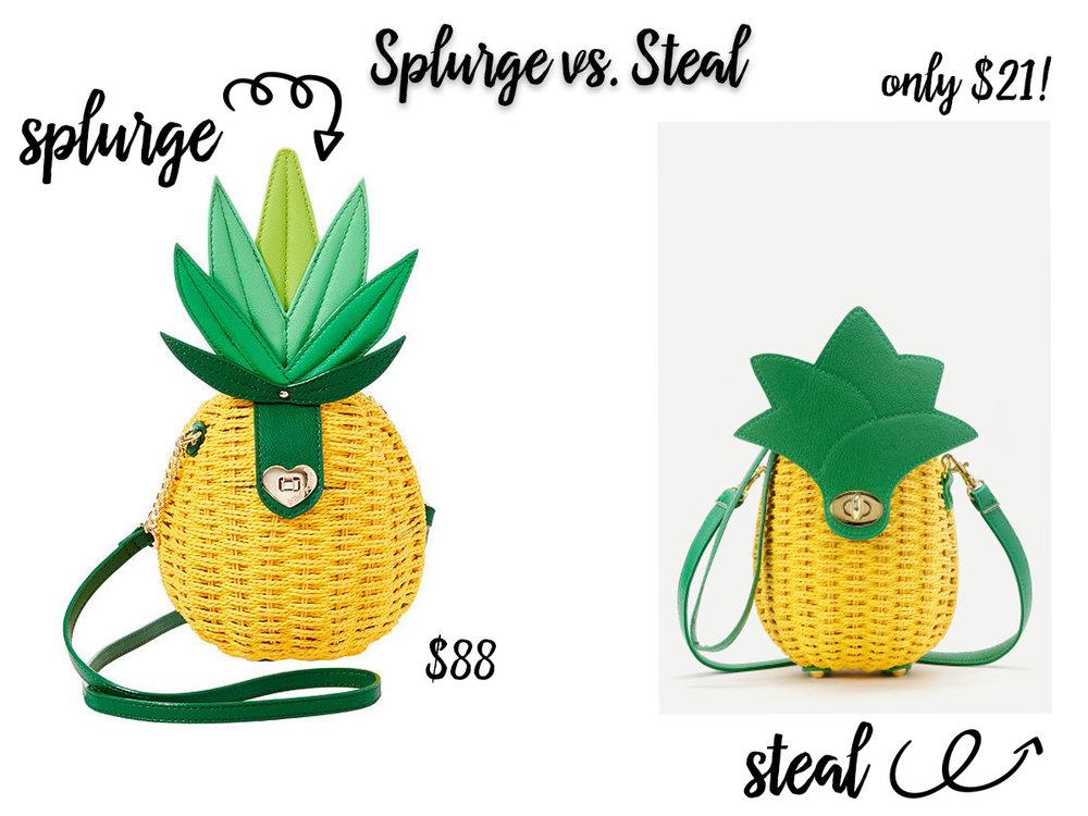 Splurge Vs Save Pineapple