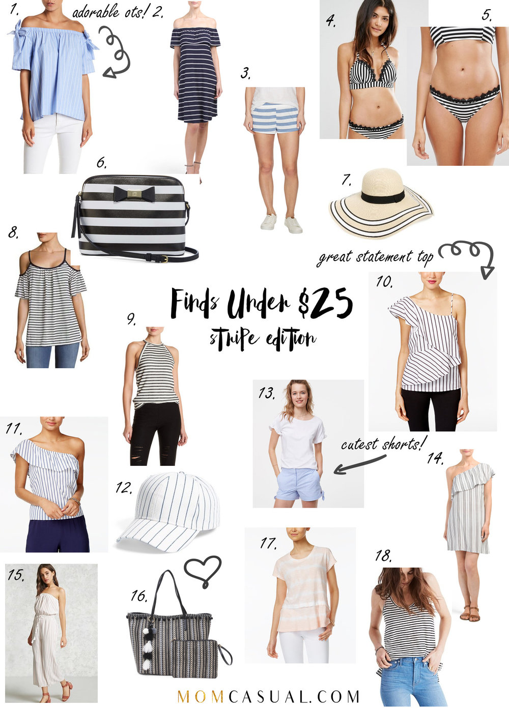 Finds Under $25- Stripes