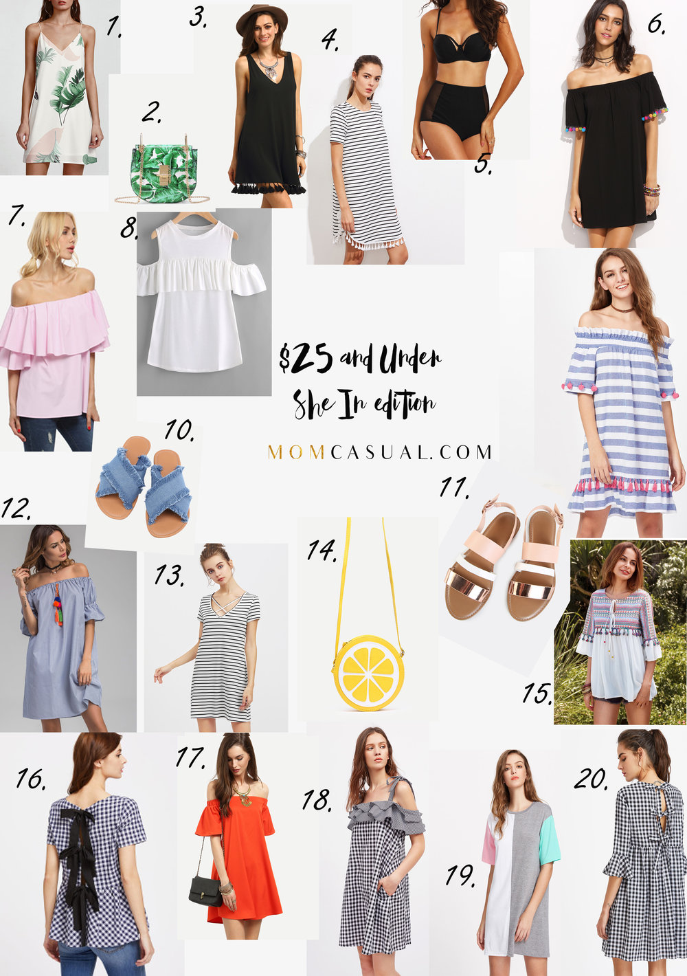 $25 and Under SheIn Edition