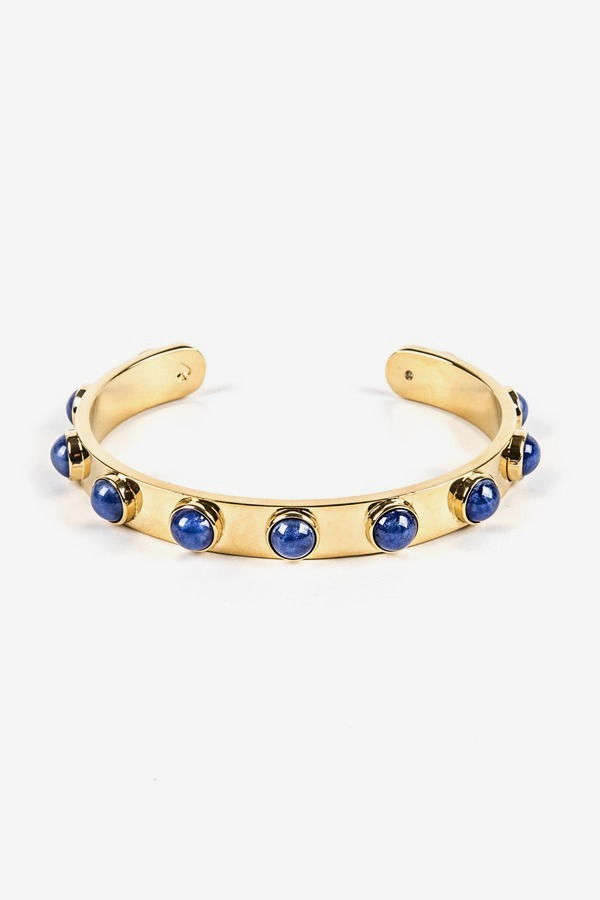 KATE SPADE NEW YORK Blue Studded Cuff