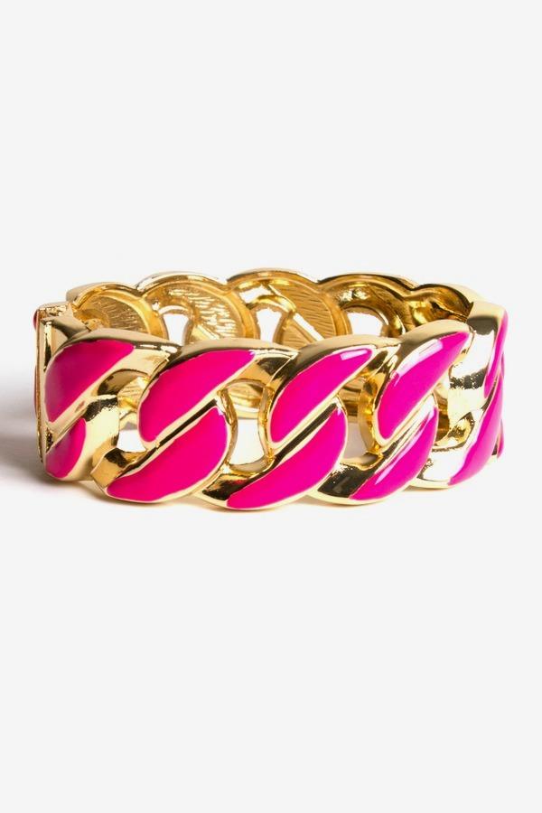 AVA Enamel Link Bracelet LeTote