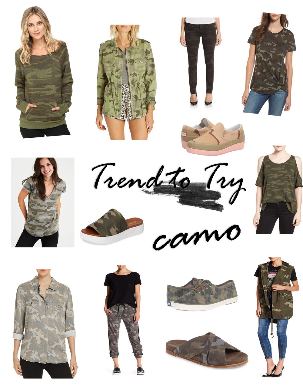 Trends to Try- Camo