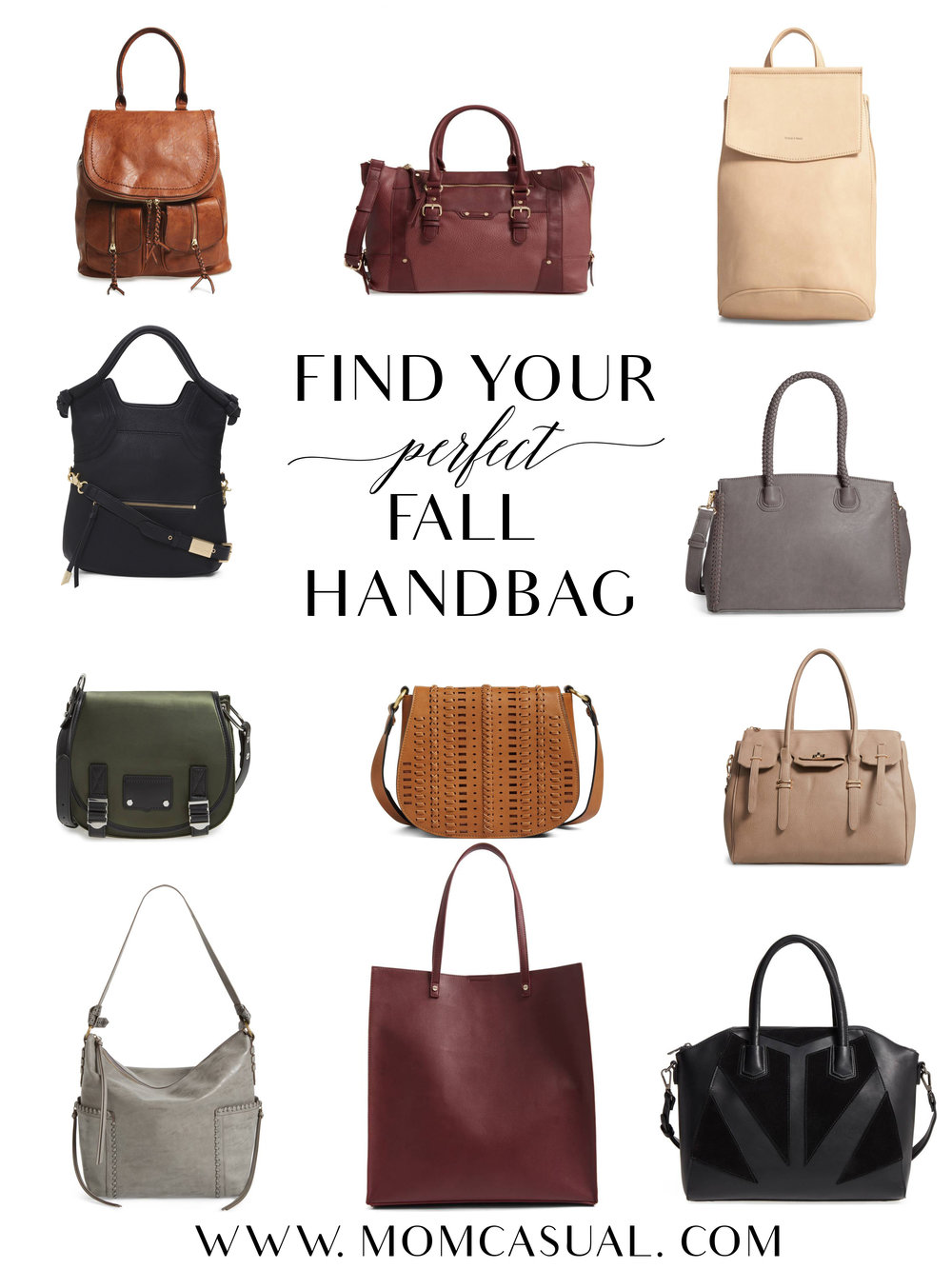 Find Your Perfect Fall Handbag