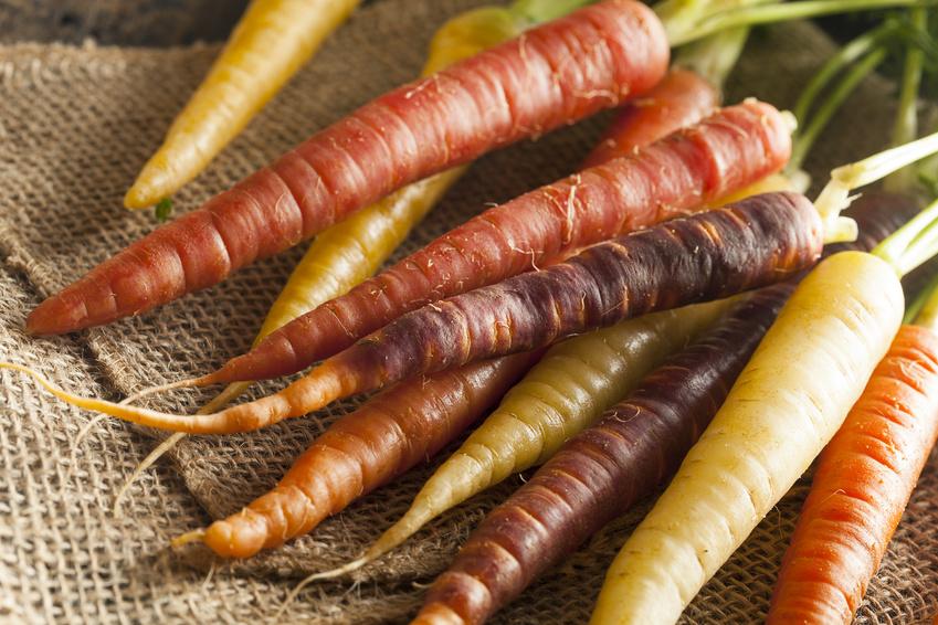 Karottensalat: Sesame & Ginger