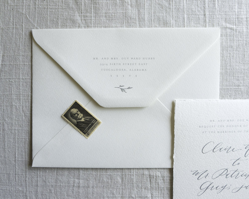 Linen & Leaf return address