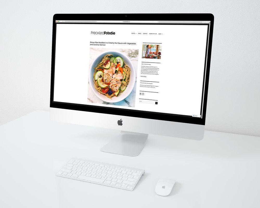 Freckled Foodie  Food Blog