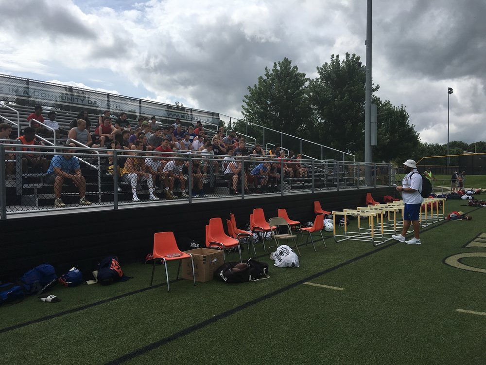 2017 I-72 DO OR DIE PROSPECT SHOWCASE was held in Springfield, IL at Sacred Heart Griffin High School. 150 prospects from the classes of 2018, 2019, 2020, 2021 competed and showcased their skills for college football coaching staffs. We offer a unique one-of-a-kind football camp experience for high school athletes in our area, and YOU need to be a part of it!