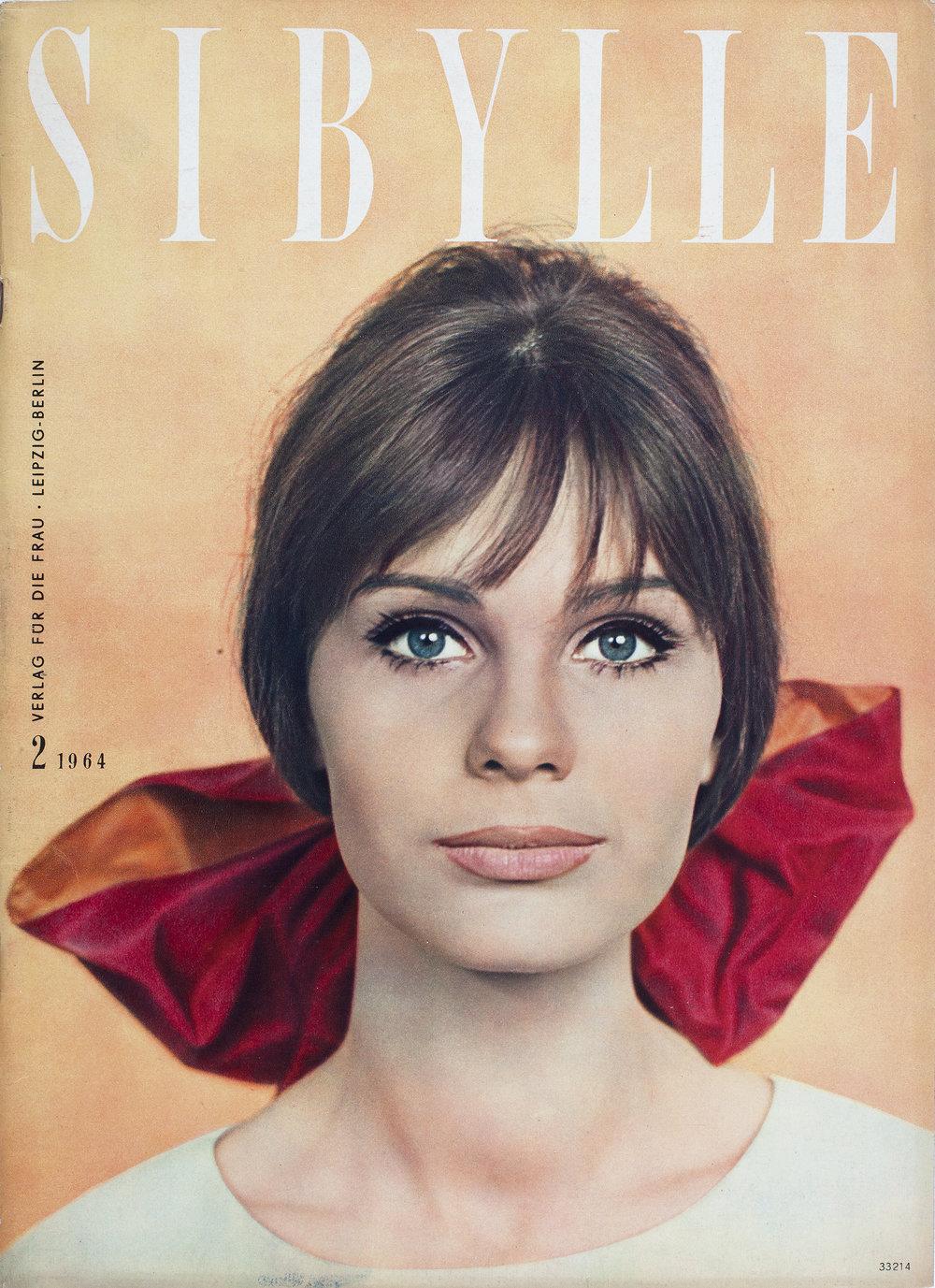 Cover SIBYLLE, 1964/2, © Foto: Günter Rössler, © Reproduktionsfoto: Werner Mahler