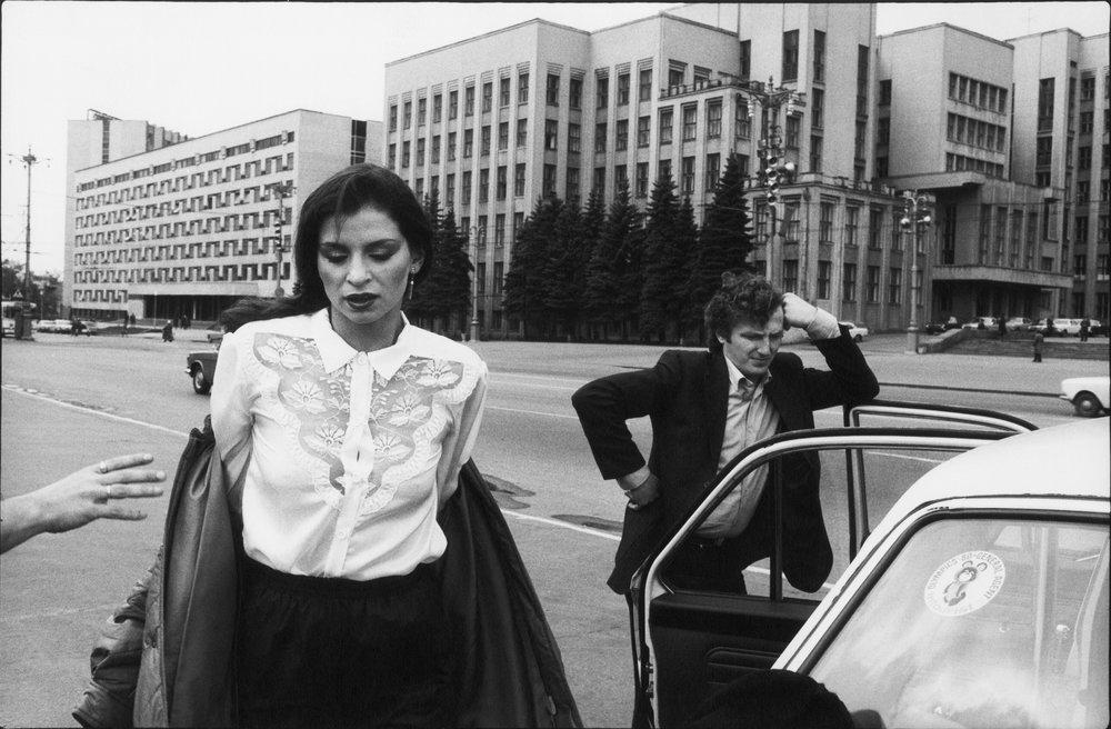 Ute Mahler,Elke, Minsk, 1981,© Ute Mahler