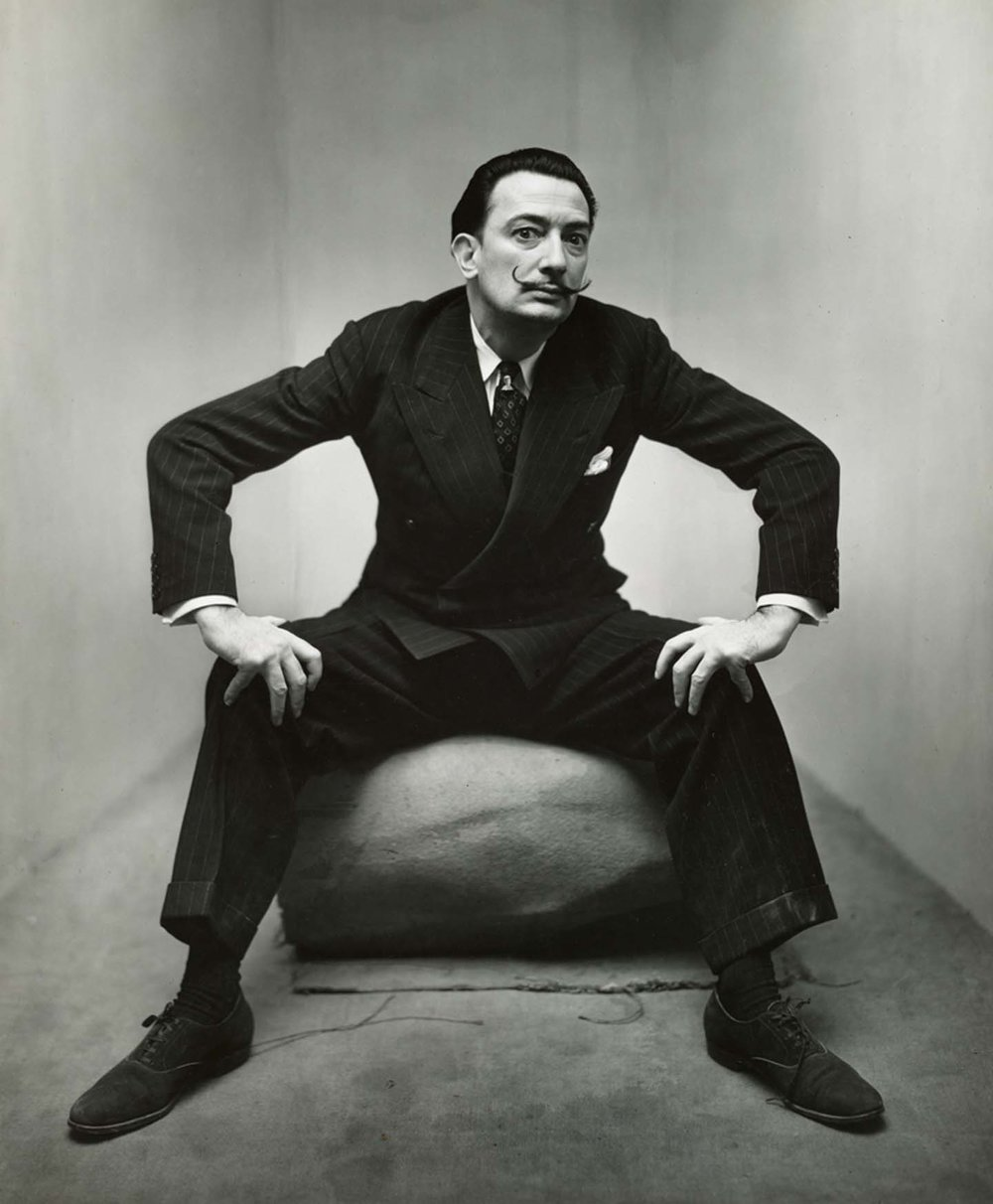 Salvador Dalí,, New York, 1947, © The Irving Penn Foundation