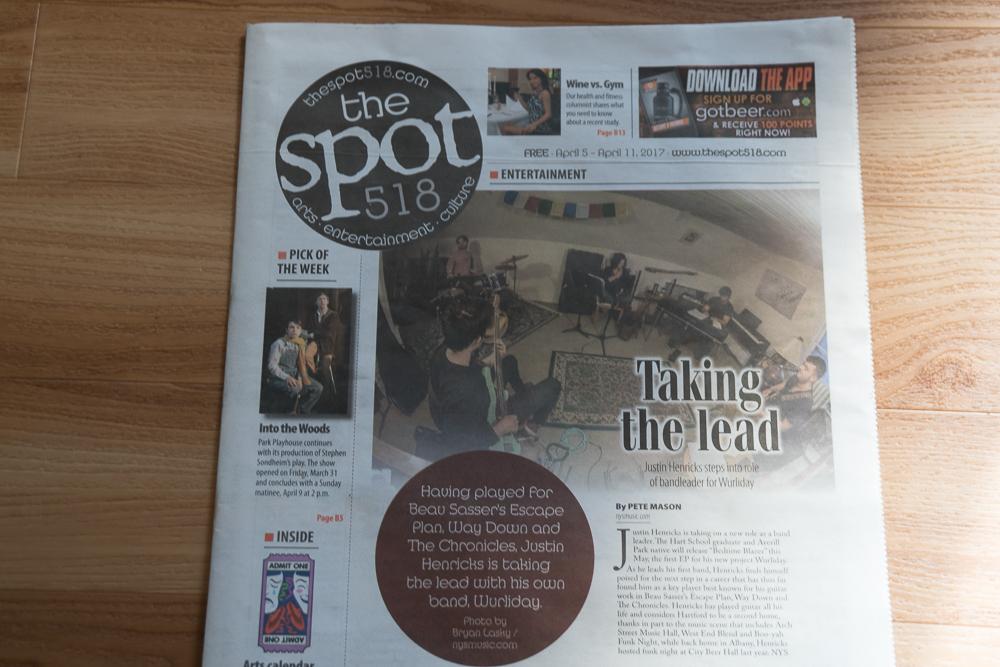 The Spot 518 - April 5, 2017
