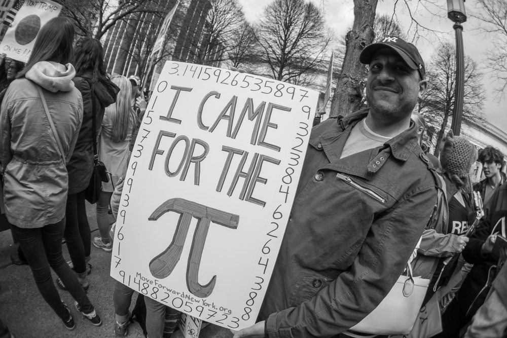 Albany Science March - Bryan Lasky
