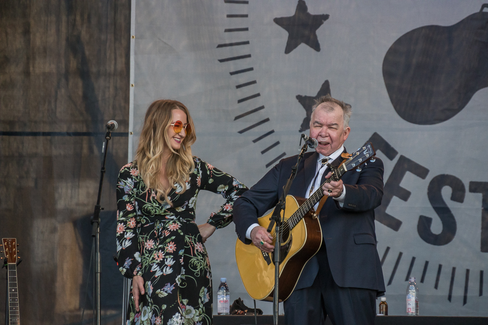 John Prine and Margo Price